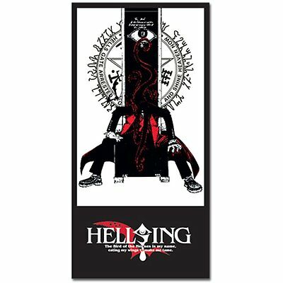 *NEW* Hellsing: Alucard Throne Towel by GE Animation