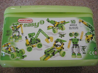 MECCANO CONSTRUCTION SET, NO. 0260, 10 MODELS, Ages 4+ (Easy)