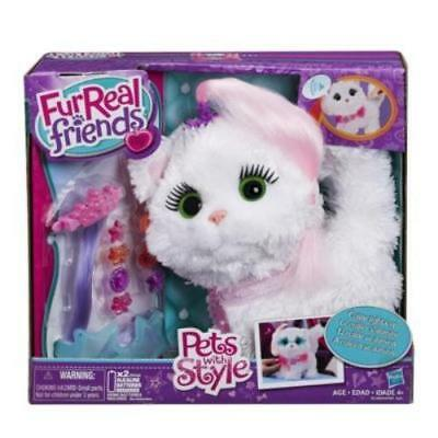 New Hasbro Furreal Friends Pets With Style Princess Kitty Kitten Pet Toy B2388