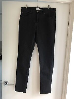 Country Road Women's Black Jeans Size 12 As New!