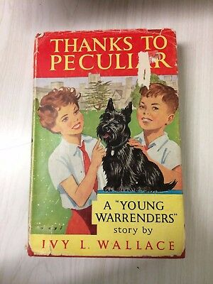 Thanks to Peculiar. Ivy L. Wallace. Hardback, dustwrapper. 2nd in the series.