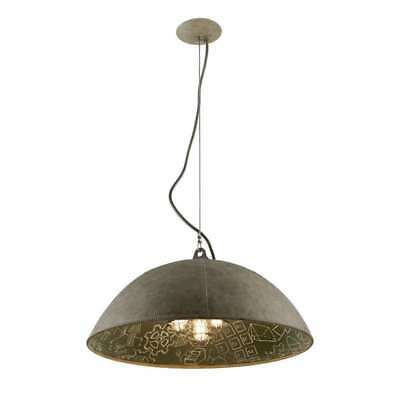 Troy Lighting F3655 Pendant Light In Salvage Zinc With Ch