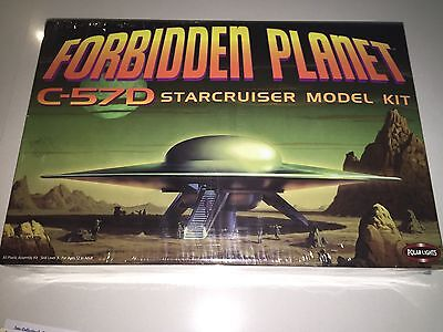 Brand New Forbidden Planet Space Ship C-57D Star Cruiser Model Never Opened RARE