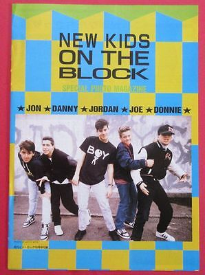 New Kids On The Block DEBBIE GIBSON PHOTO MAGAZINE 1989 JAPAN N4 T15 16PAGE