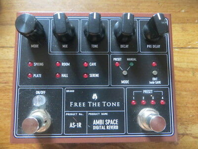 pédale reverbe FREE THE TONE AMBI SPACE