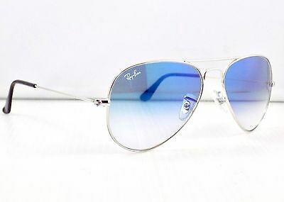Ray Ban Aviator Gradient RB3025 003/3F 58mm Lens & Case