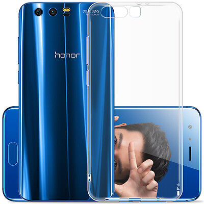 For Huawei Honor 9 Ultra Thin Clear Soft Silicone Gel TPU Case Cover Skin Newest