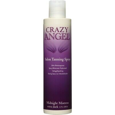Crazy Angel Midnight Mistress Extra Dark 13% DHA Tanning Spray Solution 200ml