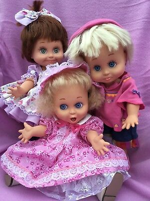 Galoob Baby Face Doll So Surprised Suzi Fully Dressed In The Most Stunning Dress
