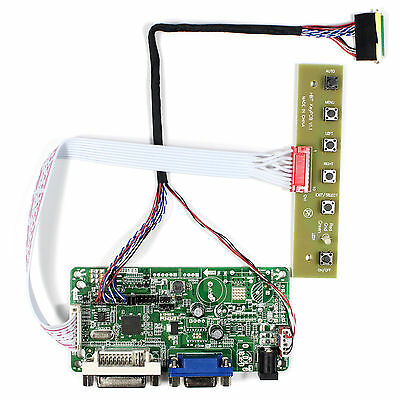 "DVI VGA LCD Controller Board For 10.1""N101BCG-L21 LP101WH2 1366x768 LCD Screen"
