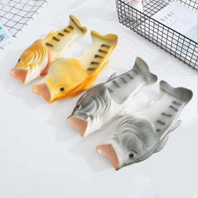 1 Pair fish slippers woman fish beach slippers Personality fish sandals