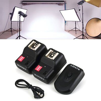 Wireless 4 Channels Practical Flash Trigger Transmitter With 2 Receivers Set GO