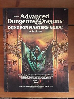 ADVANCED DUNGEON MASTERS GUIDE -AD&D -TSR By Gary Gygax NR MINT #2011