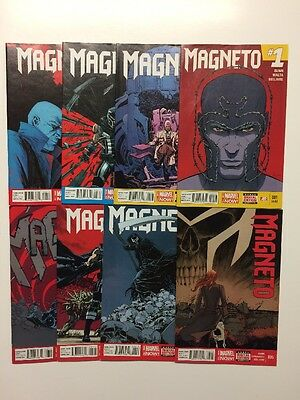 Magneto #1 2 3 4 5 6 7 8 Set X-Men Run #1 - 8 Lot Marvel Now!
