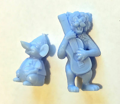 Cereal Toys ~ 1971 Disney's Aristocats X 2 (Lot B)  ~ Uk Nabisco Cereal Premiums