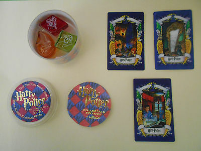 Harry Potter The Collector Stones Series 1 Enesco and Chocolate Frog cards