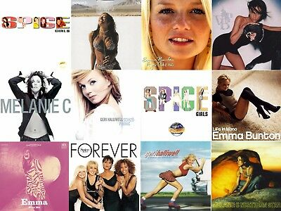 THE SPICE GIRLS COLLECTED: Spice, Spice World, Forever & 9 Selected Solo Albums