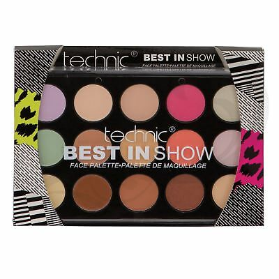 Technic Best In Show Contour Make Up Palette Bronzer Concealer Blush Highlighter