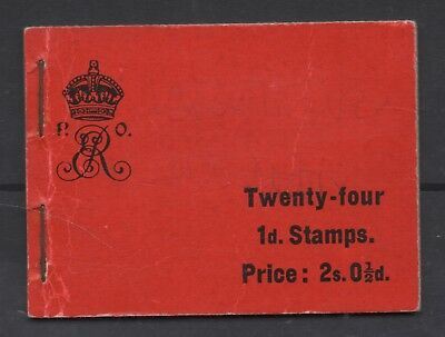 1904. BA1 2s booklet. Complete with 4 panes and interleaves. Cat £500.