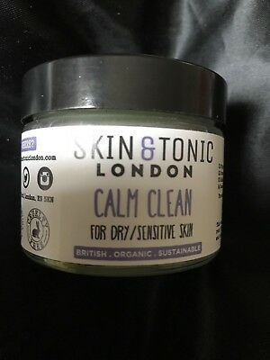 Skin & Tonic London Calm Clean Cleansing Balm For Dry/sensitive Skin Rrp £27