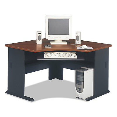 Bush Series A Collection 48W Corner Desk Hansen Cherry WC90466A