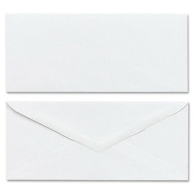 Mead Plain Envelopes Gummed No 10 50/BX White 75050