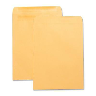"Business Source Press/Seal Catalog Envelopes Plain 10""x13"" 100/BX Kraft 42124"