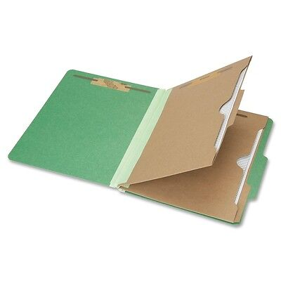 NIB - NISH Classification Folder, 6-Part,2-Div,Ltr, 11pt, Dark Green 6006983