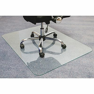 "Floortex Glass Chair Mat 36""x48"" Clear 123648EG"