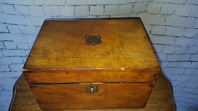 Antique Vintage Victorian Wooden Sewing Pin Box Restoration  Jewelry box Project