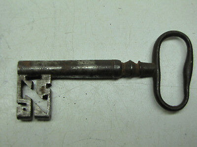A Large Door Key with Kidney Bow