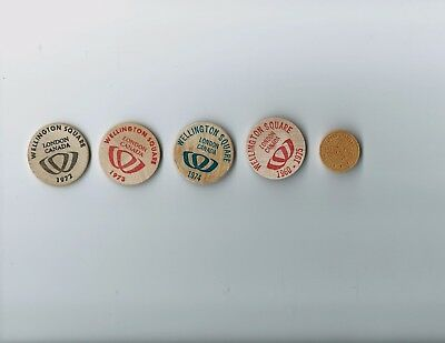 Canadian Coins;Tokens