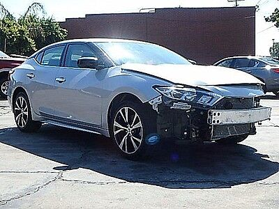 2017 Nissan Maxima 3.5L 2017 Nissan Maxima 3,5L Wrecked Repairable Loaded w Options Priced to Sell L@@K!