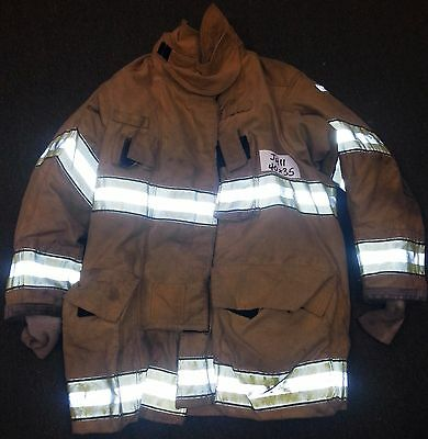 40x35 Firefighter Jacket Coat Bunker Fire Turn Out Gear Globe Gxtreme  J411