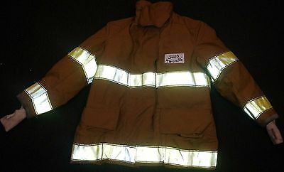 46x35 (46+1) Firefighter Jacket Coat Bunker Turn Out Gear Globe     J403
