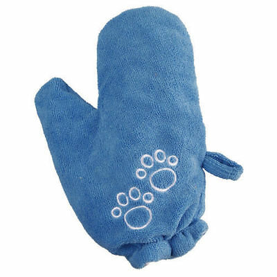 Trixie Dog Puppy Pet Grooming Microfibre Drying Left Right Hand Towel Glove 2357