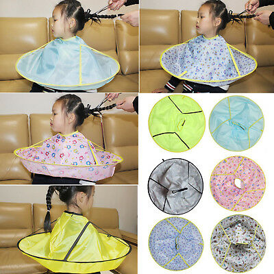 Boy Girl Salon Barber Gown Cloth Hair Cutting Cloak Umbrella Hairdressing Cape