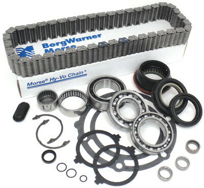Transfer Case Rebuild Bearing Chain Kit GM Trucks NP 261XHD 263XHD (BK371AD-2)