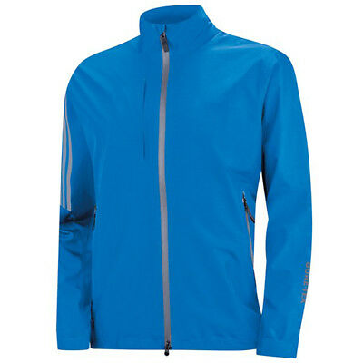 Adidas Golf Gore-Tex 2-Layer Full Zip Jacket - Bright Blue