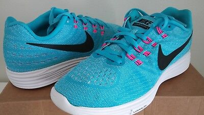 New Womens Nike LunarTempo Running Shoes size 9.5 Blue Pink White