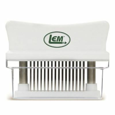 New LEM Hand-Held Meat Tenderizer With 48 Stainless Steel Blades 1204