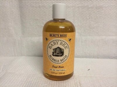 Burts Bees Baby Bee 12 Oz Bubble Bath Tear Free Sulfate Free 98.9% Natural