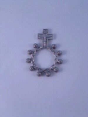 Rosary Ring ~ Oxydised Metal