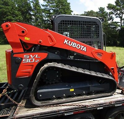 Kubota Svl90-2Hfc Skid Steer Track Loader, Cab W/ Ac/heat, High Flow!