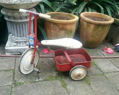Vintage retro kids tricycle