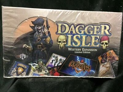 Guardians Dagger Isle Booster Box CCG Western Expansion Limited, Factory Sealed