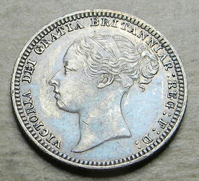 Great Britain 1880 6 Pence XF