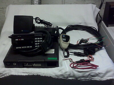 Motorola Syntor X 9000 Vhf 128 Modes 100 Watt Radio Has Dual Recieve Port