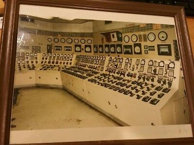 Vintage 2 Commonwealth Edison (ComEd) Photographs of Power Command Center