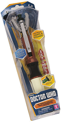 Doctor Who 12th Doctors Premium Sonic Screwdriver with Touch Controls